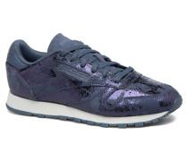 Cl Lthr Hype Metall Sneaker in blau