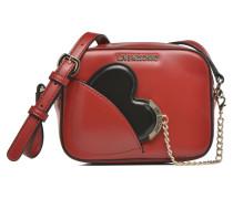 Camera Bag Cœur Porté travers Handtaschen für Taschen in rot