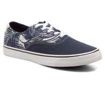 JJ Surf Canvas Print Low Sneaker in blau