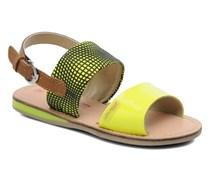 Mini E Sandalen in gelb