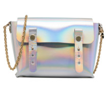 Petite Etude Cuir Handtasche in silber