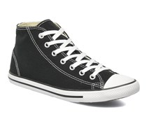 All Star Dainty Canvas Mid W Sneaker in schwarz
