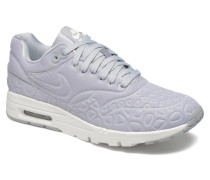 W Air Max 1 Ultra Plush Sneaker in grau