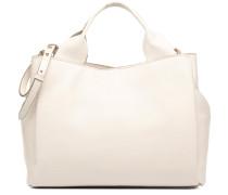 TALARA STAR Porté main cuir Handtasche in weiß