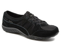 BreatheEasy Moneybags Sneaker in schwarz