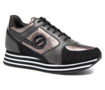 Parko jogger play suede Sneaker in schwarz