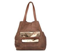 PIXA Suede bag Handtaschen für Taschen in braun