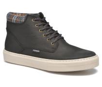 Bota Montaña PielinCuello H Sneaker in schwarz
