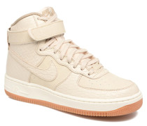 Wmns Air Force 1 Hi Prm Sneaker in beige