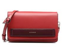 Porté croisé Coquette TPM 3 soufflets anti RFID Handtaschen für Taschen in rot