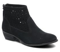 Cutout Boot Stiefeletten & Boots in schwarz