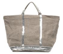 Cabas Lin paillettes XL Handtaschen für Taschen in beige