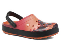 Crocband Tropics Clog Clogs & Pantoletten in orange