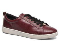 Manhattan Sneaker in weinrot