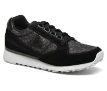 Eclat W Rainbow Jacquard Sneaker in schwarz
