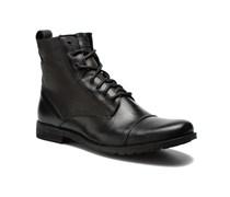 Maine Lace Up Stiefeletten & Boots in schwarz