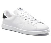 Deportivo Basket Piel M Sneaker in weiß