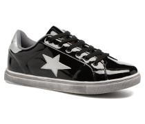 Star Sneaker in schwarz