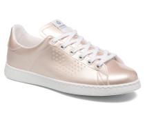 Deportivo Charol Sneaker in rosa