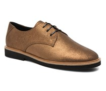 Malice Derby Schnürschuhe in goldinbronze
