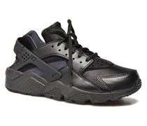 Wmns Air Huarache Run Sneaker in schwarz