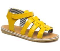 Nut Sandalen in gelb
