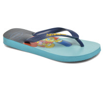 Simpsons Zehensandalen in blau