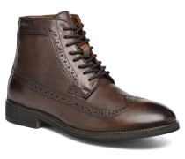Hackney Wing Tip Boot Stiefeletten & Boots in braun