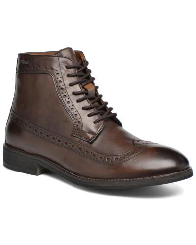 Hackney Wing Tip Boot Stiefeletten & Boots in braun