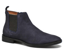 Mia Brogue Zip Stiefeletten & Boots in blau
