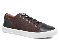 Border classic england Sneaker in weinrot