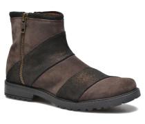 STAMPA BACK ZIP Stiefeletten & Boots in braun