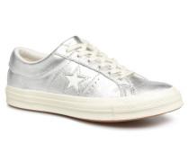 One Star Ox W Sneaker in silber