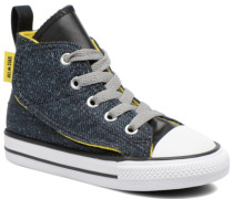 Chuck Taylor All Star Simple Step Hi Sneaker in grau
