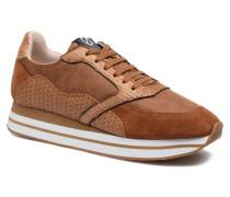 Eden street purse suede Sneaker in braun