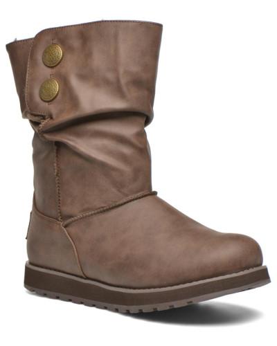 Skechers Damen Keepsakes Leathere Stiefel in braun Großer Verkauf Günstig Kaufen Besten Großhandel VJIZz4u0