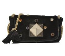 Le Copain velours strass Porté travers Mini Bags für Taschen in schwarz