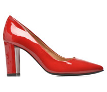 Glossy Cindy #16 Pumps in rot
