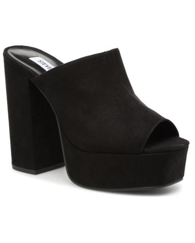 Steve Madden Damen Seven Sandal Clogs & Pantoletten in schwarz