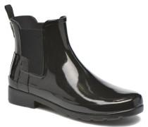 Original Refined Chelsea Gloss Stiefeletten & Boots in schwarz
