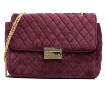 Porté épaule Onela Velvet Handtaschen für Taschen in weinrot