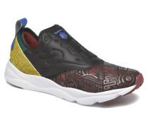 Furylite Slip On Afr Sneaker in schwarz