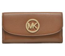 FULTON Flat Trifold Portemonnaies & Clutches für Taschen in braun