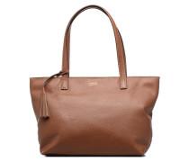 Eden zippé Handtaschen für Taschen in braun