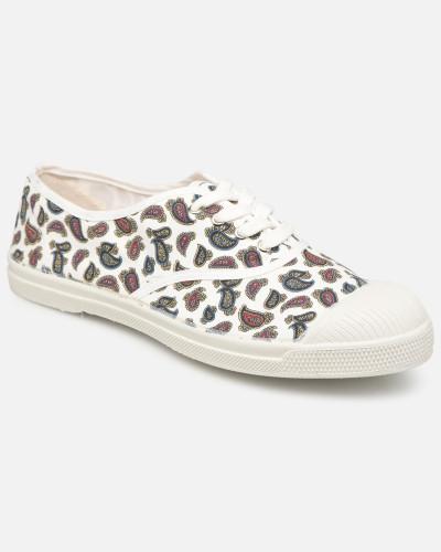 Tennis Lacet Mini Bandana Sneaker in weiß