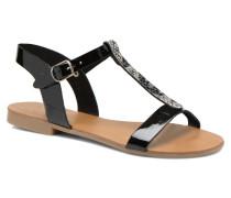 Domino 3 Sandalen in schwarz