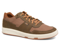 Line Up Canvas Sneaker in braun