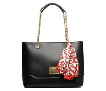 Bottom bag Cabas Handtaschen für Taschen in schwarz
