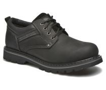 Vinc Schnürschuhe in schwarz