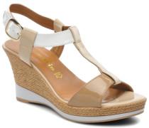 Stern Sandalen in beige